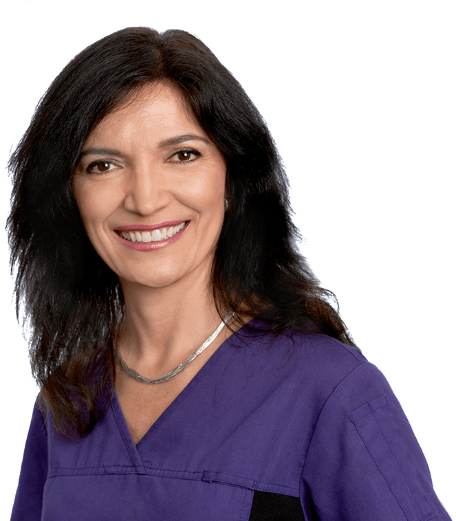 Trusted dental hygienist Lina